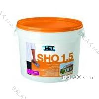 Silikonová hlazená omítkovina SHO 1,5mm bílá 25kg