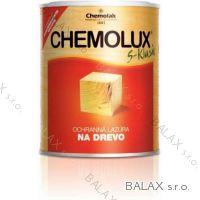 CHEMOLUX klasik červený smrk 0.75lt slabovrstvá lazura